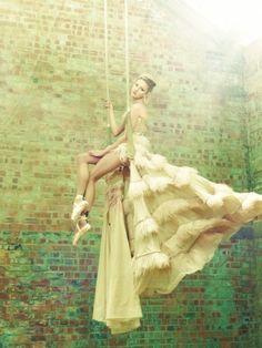 Fairytale Wedding Dress ♥ Unique Bride Photography