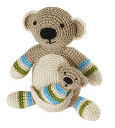 Mother Koala And Baby Crochet