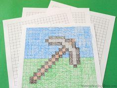 Minecraft Math Printables for Kids