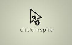 Click Inspire Logo Design