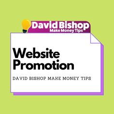 Website Promotion, Building A Business, Building A Website, Money Tips, Online Business, How To Make Money, Learning, Studying, Teaching