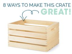 Crate Storage Solutions