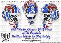 Holtby´s NHL Winter Classic mask