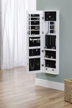 Jewelry Organizer - Wall Mount or Hang