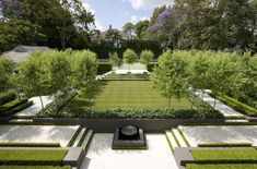 Contemporary Garden by Peter Fudge #landscapedesign