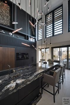 Modern home design – Home Decor Interior Designs Modern Home Interior Design, Modern House Design, Scandi Living, Classy Living Room, Rustic Kitchen Design, Cuisines Design, Kitchen Styling, New Homes, Home Decor
