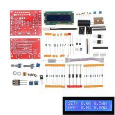 Original Hiland 0-28V 0.01-2A Adjustable DC Regulated Power Supply DIY Kit Short Circuit Current Limiting Protection