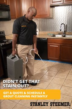 Grout is porous and easily stains. We can restore your grout and make it any color you'd like. Stanley Steemer can completely recreate the look of any tiled area. Cleaning Tile Floors, Clean Tile Grout, Steam Cleaning, Cleaning Hacks, Porous Materials, Grout Cleaner, Plant Based Diet, How To Clean Carpet, Cleaning Solutions
