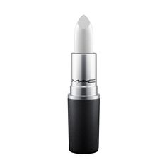 Lipstick in Time to Shine: A lipstick with hundreds of hues. The iconic product that made M·A·C famous – now in silver with white pearl. Show off your tech savvy in true metallic, or go robotic.