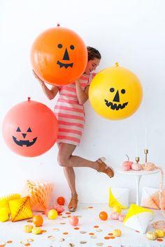 Giant Jack O' Lantern Balloons   Oh Happy Day!
