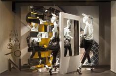 De Bijenkorf Eye On Fashion windows by StudioXAG Netherlands