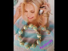 "Tutorial perle ""Vortice"". - YouTube Beaded Beads, Beaded Anklets, Beaded Rings, Beads And Wire, Beaded Jewelry, Beaded Necklace, Beaded Bracelets, Jewellery, Beading Patterns Free"