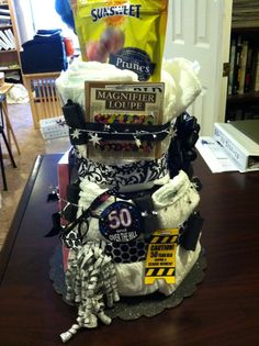 "50th birthday ""Over the Hill"" Cake"