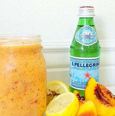 Whole 30 Recipe // Sparkling Peach Lemonade — AMAZON ASHLEY