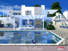 61 Best Hellenic Greek Houses For Sims4 Images In 2019