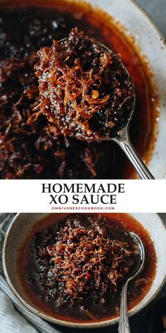 Luxurious XO sauce is super rich with a seafood umami flavor that's both savory and sweet. Add it to rice, noodles, fried rice, and much more to boost the taste.