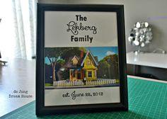 """de Jong Dream House: """"Up""""-Themed Wedding Gifts"""