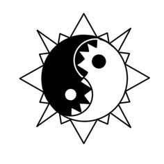. Chinese Philosophy, Tai Chi, Yin Yang, Light In The Dark, Zen, Peace, Concept, Sobriety, World