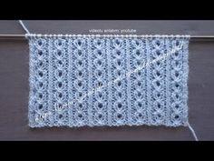 Kahve çatlağı örgü modeli bayan yelekleri, bebek yelekleri, bebek battaniyesi, bere ve atkı, dahil sayısız birçok örgü çeşitleri için ideal bir örnek. Easy Knitting Patterns, Knitting Kits, Knitting Videos, Knitting Charts, Knitting Stitches, Knitting Designs, Baby Knitting, Stitch Patterns, Crochet Patterns