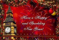 New Year Greeting Cards 2018   Happy New Year 2019 Wishes Quotes     New Year Firwwork Greetings 2017