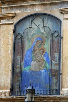 Madonna con Bambino Toscana Colle Val d'Elsa SI #TuscanyAgriturismoGiratola