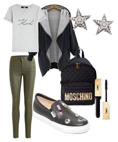 """""""Street fall"""" by klaravosecka-92 on Polyvore featuring Object Collectors Item, Moschino, Karl Lagerfeld and Chanel"""