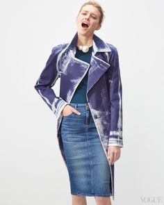 Best Jeans, Denim Jackets, Denim Skirts, and Denim Shirts for Spring - Vogue Daily - Fashion and Beauty News and Features - Vogue