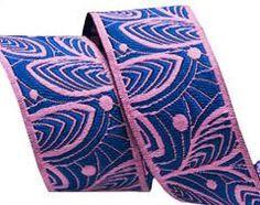 Amy Butler Woven Jacquard ribbons by Renaissance ribbons