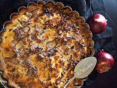 Valtakunnallinen sipuliviikko: Blonditiinan sipulipiirakka - Himahella Food To Make, Pork, Meat, Cooking, Quiches, Drinks, Kale Stir Fry, Kitchen, Drinking