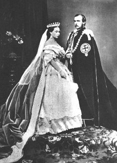 HRH Victoria and her Royal Consort, Albert...