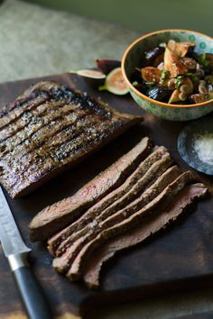 Grilled Flank Steak With Tomatoes, Red Onion And Balsamic | Weight ...