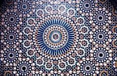 Moroccan architectural art
