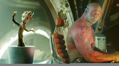 """Guardians of the Galaxy - """"Baby Groot"""" Clip ... this just makes me happy inside :)"""