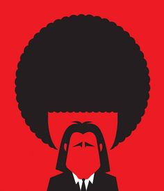 Whow ! // By Noma Bar - Pulp Fiction