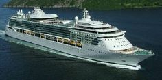 Royal Caribbean Cruise Line Cruise Ship Freedom Of The Seas Track At Sea L