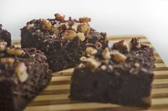 Brownies con harina de coco