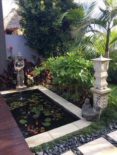 Balinese garden design by Melisa Dixon