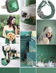 emerald green wedding theme - Google Search