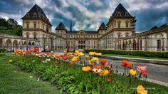 Valentino Castle Turin Italy - Italy, castle, medieval, architecture  impressive, Europe, stone, Turin