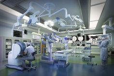 Mt.Sinai Hospital Operating Room - Toronto Cicada Design Inc. 2014
