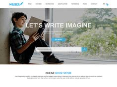 Writer – eCommerce Bootstrap Template by DevItems
