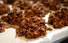 Chocolaty Oatmeal & Coconut Clusters Recipe - Recipezazz.com