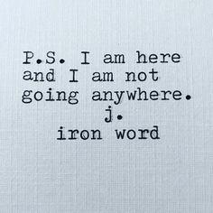 -j.iron word