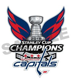 Washington Capitals 2018 Stanley Cup Champions Decal   Sticker Die cut ab39fff3c