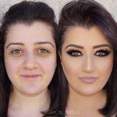 Make up transformations Can Makeup, Power Of Makeup, Pretty Makeup, Makeup Tips, Beauty Makeup, Makeup Looks, Amazing Makeup, Makeup Ideas, Make Up Tutorials