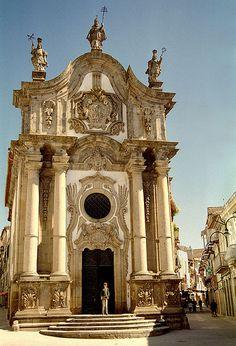 Igreja dos Clérigos, Vila Real , Portugal