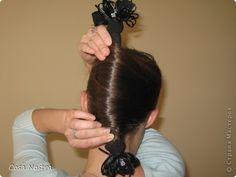 """Мастер-класс, Прическа: Прическа с заколкой д/волос Софист-о-твист """"Кокетка"""". Фото 12"""
