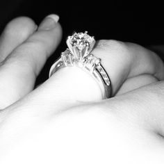 My engagement ring! My Engagement Ring, Wedding Planning, Abs, Wedding Rings, Jewelry, Crunches, Jewlery, Jewerly, Schmuck