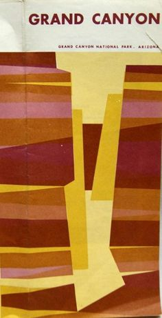 Grand Canyon flyer, love this abstract!