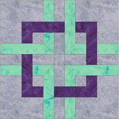 Got Celtic?  Celtic Knots Chain Paper Piece Foundation by QuiltingSupport, $3.50